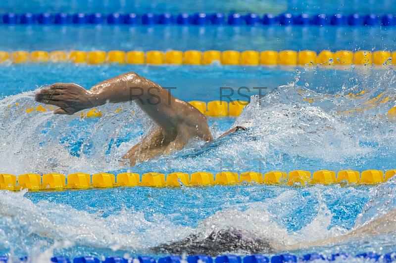 BRA, Olympia 2016 Rio, Schwimmsport Halbfinale 1  - 200m Freistil Maenner