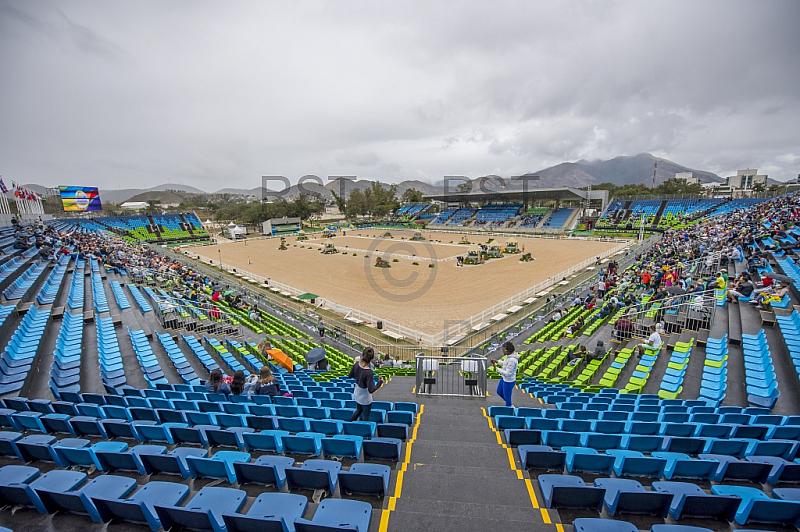BRA, Olympia 2016 Rio, Reitsport , Feature Stadion