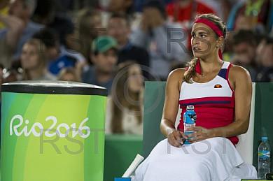 BRA, Olympia 2016 Rio, Tennis, Finale Monica Puig (PUR) vs. Angelique Kerber (GER)