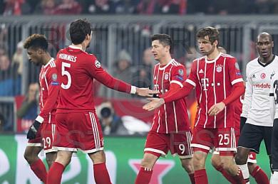 GER, UEFA CL, FC Bayern Muenchen (GER) vs Besiktas Istanbul (TUR)