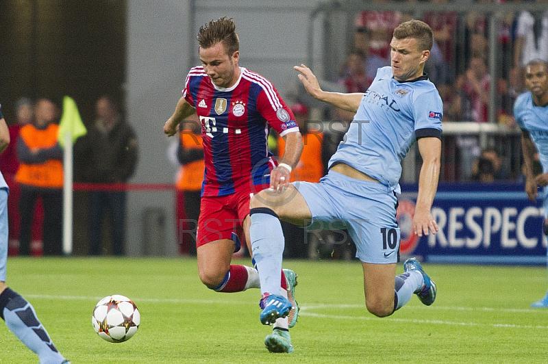 GER, UEFA CL, FC Bayern Muenchen vs.  Manchester City