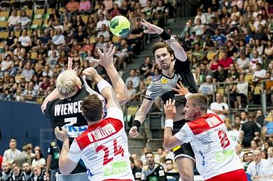 GER, Handball Laenderpiel Herren, Deutschland vs Norwegen
