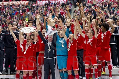 GER, 1,FBL,  FC Bayern Muenchen vs. FC Augsburg