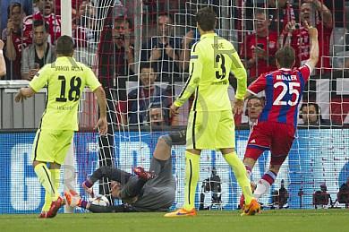 GER, UEFA CL Halbfinale, FC Bayern Muenchen vs. FC Barcelona