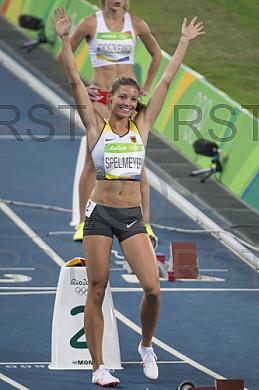 BRA, Olympia 2016 Rio, Leichtathletik, 400 Meter Viertelfinale der Damen