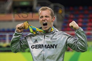 BRA, Olympia 2016 Rio, Turnsport, Reck Finale Maenner
