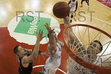 GER, Eurocup, FC Bayern Muenchen vs. Brose Baskets