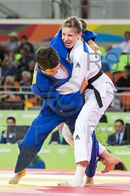 BRA, Olympia 2016 Rio, Judo, Viertelfinale Damen -70kg