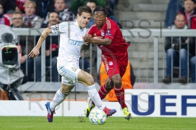 GER, UEFA CL, FC Bayern Muenchen  vs. Olympique Marseille