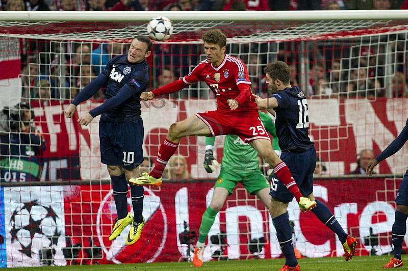 GER, UEFA CL, FC Bayern Muenchen vs.  Manchester United FC