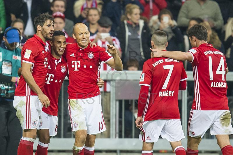 GER, 1.FBL,  FC Bayern Muenchen vs. Hertha BSC Berlin
