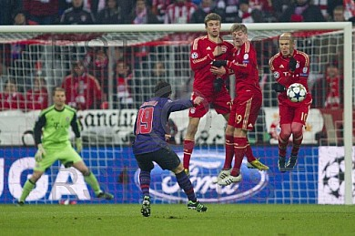 GER, UEFA CL, FC Bayern Muenchen vs. FC Arsenal London