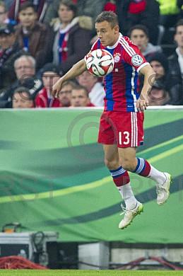 GER, DFB Pokal Halbfinale,  FC Bayern Muenchen vs. Borussia Dortmund