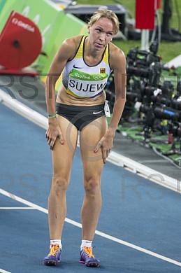 BRA, Olympia 2016 Rio, Leichtathletik, 1500 Meter Viertelfinale der Frauen
