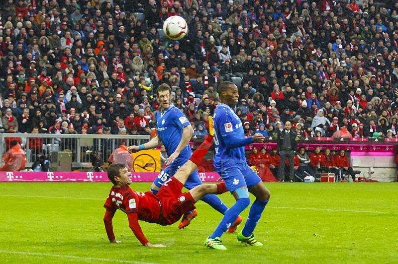 GER, 1.FBL,  FC Bayern Muenchen vs. Darmstadt 98