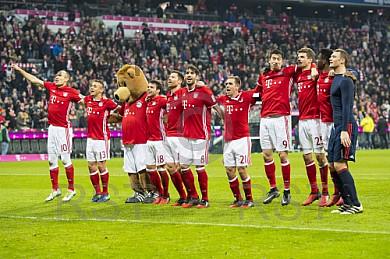 GER, 1.FBL,  FC Bayern Muenchen vs. VfL Wolfsburg
