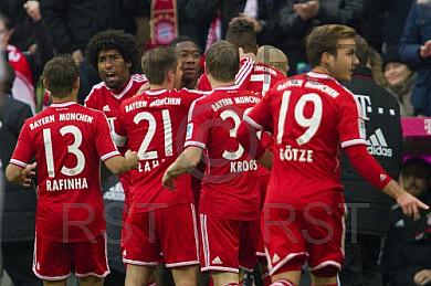GER, 1.FBL,  FC Bayern Muenchen vs . FC Augsburg