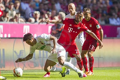 GER, 1.FBL,  FC Bayern Muenchen vs. FC Augsburg