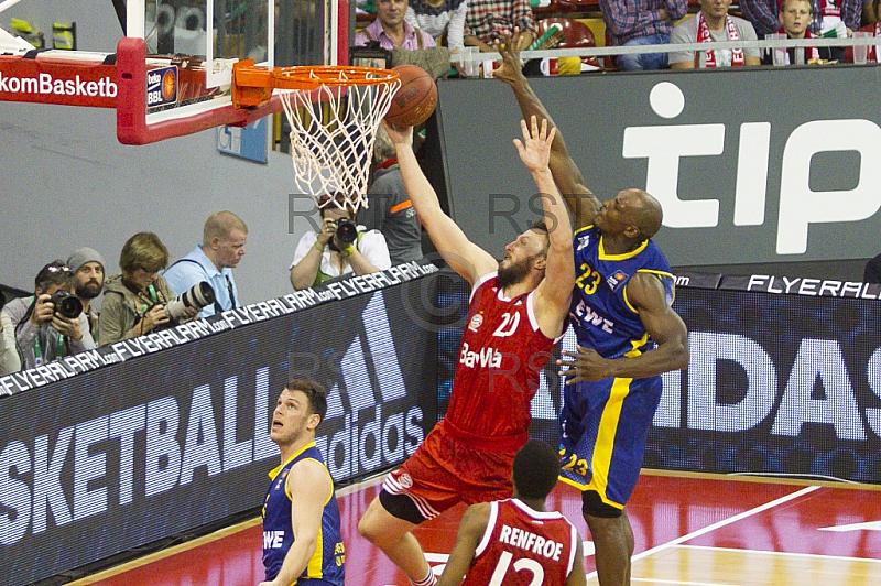 GER, Beko BBL Playoff Halbfinale , FC Bayern Muenchen vs. EWE Baskets Oldenburg