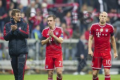GER, UEFA CL, FC Bayern Muenchen vs. Real Madrid