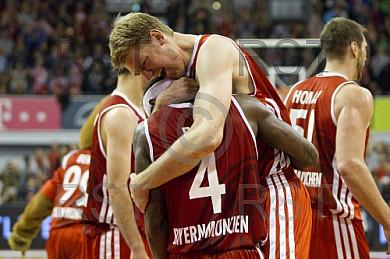 GER, BBL Play Off, FC Bayern Muenchen vs. Brose Baskets Bamberg