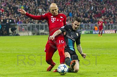 GER, UEFA CL,  FC Bayern Muenchen (GER) vs. FC Arsenal