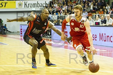 GER, Beko BBL, FC Bayern Muenchen vs. s.Oliver Baskets Wuerzburg