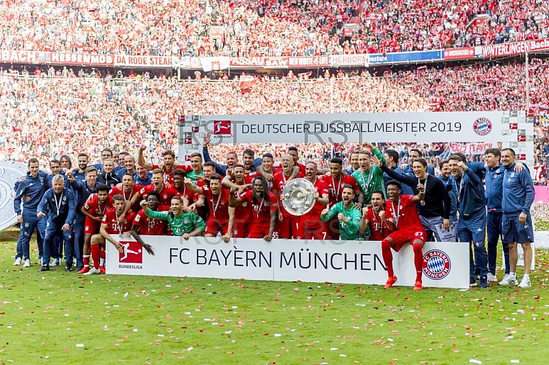 GER, 1.FBL,  FC Bayern Muenchen vs. SV Eintracht Frankfurt