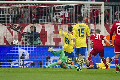 GER, UEFA CL, FC Bayern Muenchen vs. Arsenal London