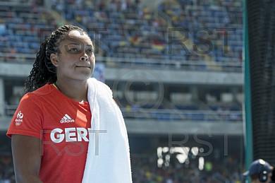 BRA, Olympia 2016 Rio, Leichtathletik, Diskus Finale Frauen