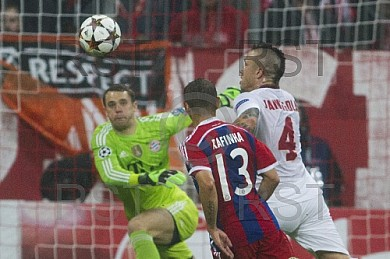 GER, UEFA CL, FC Bayern Muenchen vs. AS Rom