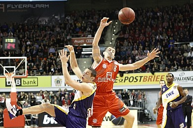 GER, BBL, FC Bayern Muenchen vs. EWE Baskets Oldenburg