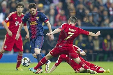 GER, UEFA CL, FC Bayern Muenchen vs. FC Barcelona