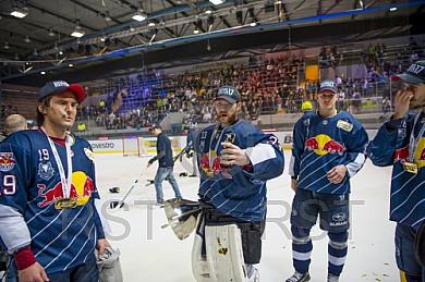 GER, DEL Playoff Finale Spiel 5, EHC Red Bull Muenchen vs. Grizzlys Wolfsburg