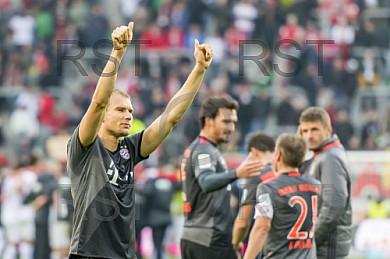 GER, 1.FBL,  FC Augsburg vs FC Bayern Muenchen