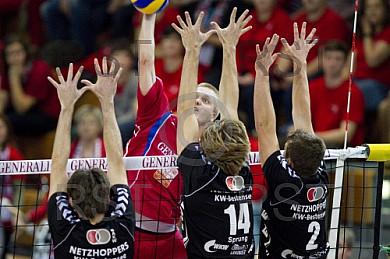 GER, 1.BL Volleyball, Generali Haching vs. NETZHOPPERS KW-Besten