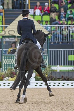 BRA, Olympia 2016 Rio, Reitsport , Dressur Mannschaft Grand Prix Spezial