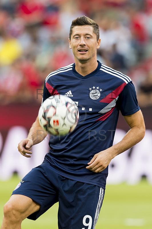 GER, Testspiel,  FC Bayern Muenchen vs. Manchester United