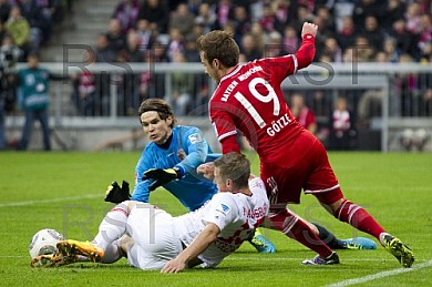 GER, 1.FBL,  FC Bayern Muenchen vs . FC Augsburg