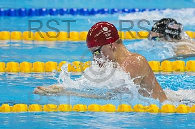 BRA, Olympia 2016 Rio, Schwimmsport FINALE - 100m Brust Maenner