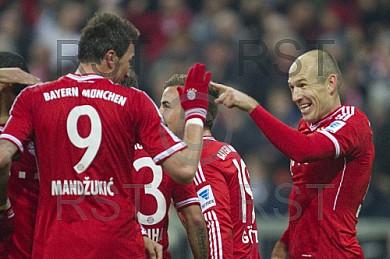 GER, 1.FBL,  FC Bayern Muenchen vs. FC Schalke 04