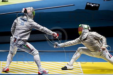 BRA, Olympia 2016 Rio, Saebel Fechten ,Herren Einzel der besten 16
