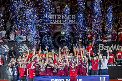GER, BBL Finale, Spiel 5, FC Bayern Muenchen vs. Alba Berlin