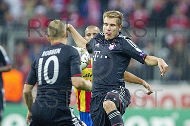 GER, CL Gruppe F,  FC Bayern Muenchen vs. FC Valencia