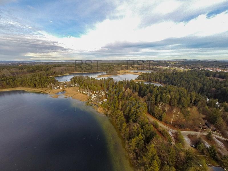 GER, Feature Luftbilder Fohnsee