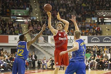 GER, Beko BBL, FC Bayern Muenchen vs. Basketball Loewen Braunschweig
