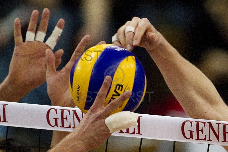 GER, 1.BL Volleyball Play Off, Generali Haching vs. VfB Friedric