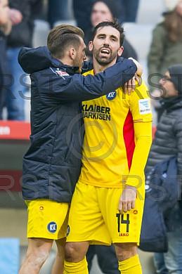 GER, 2.FBL,  TSV 1860 Muenchen  vs. Karlsruher SC