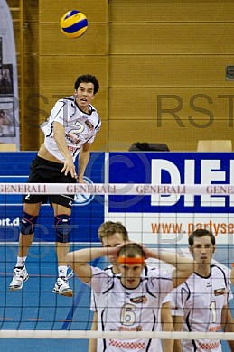 GER, 1.BL Volleyball, Generali Haching vs. Berlin Recycling Voll