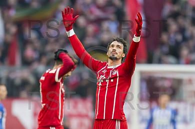 GER, 1.FBL,  FC Bayern Muenchen vs. Hertha BSC